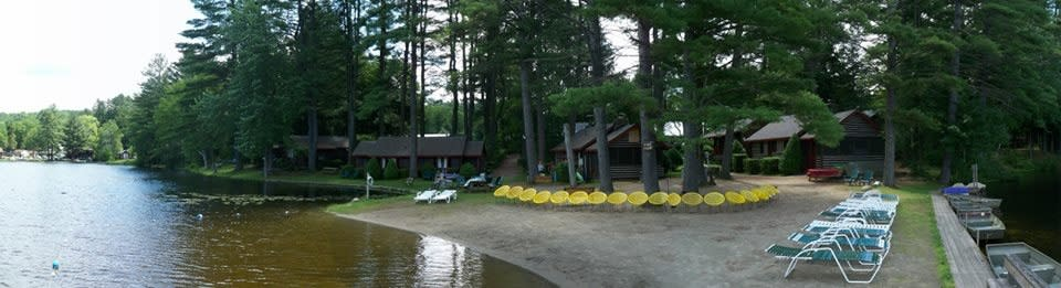 Pine Point Cottages & Motel | Lake Luzerne, NY 12846
