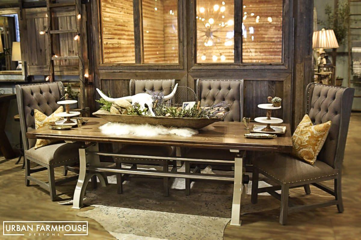 Urban Farmhouse Designs, Urban Farmhouse Dining Room