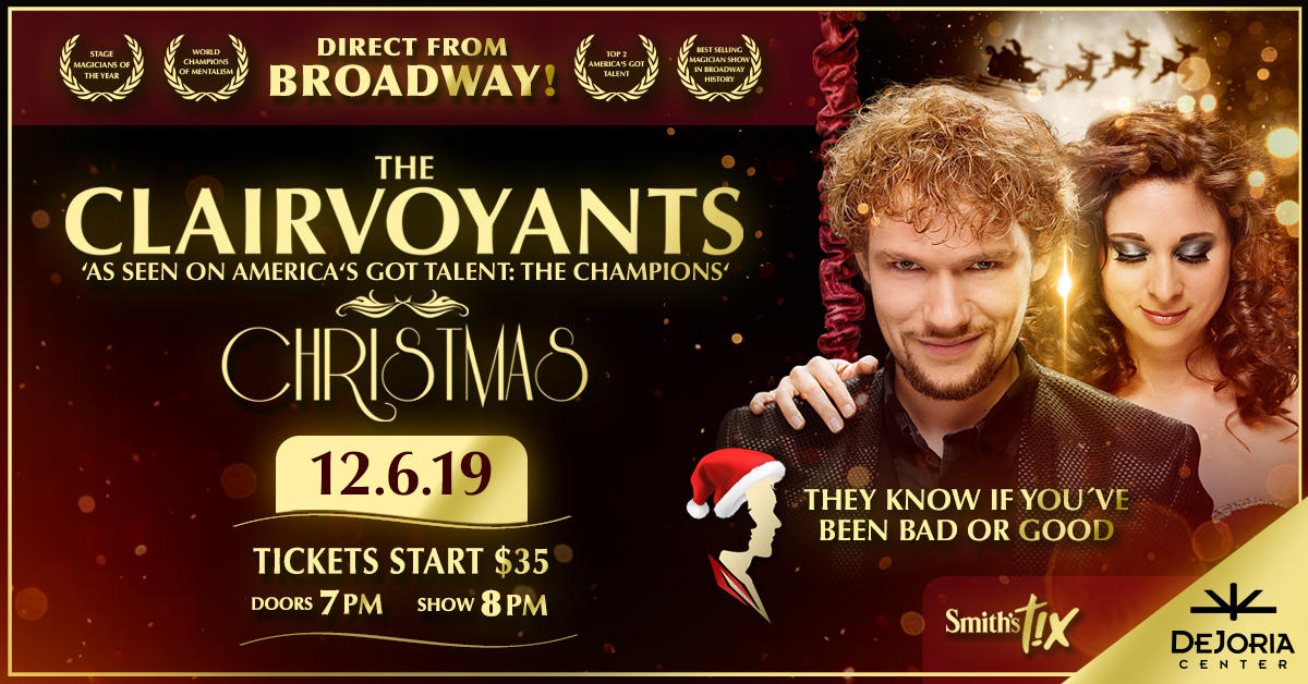 Americas Got Talent Christmas.The Clairvoyants Christmas