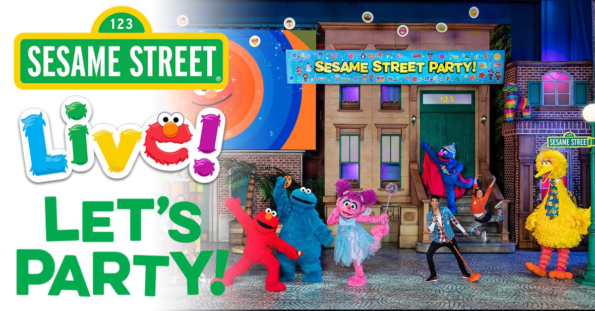 Sesame Street Live - Let's Party