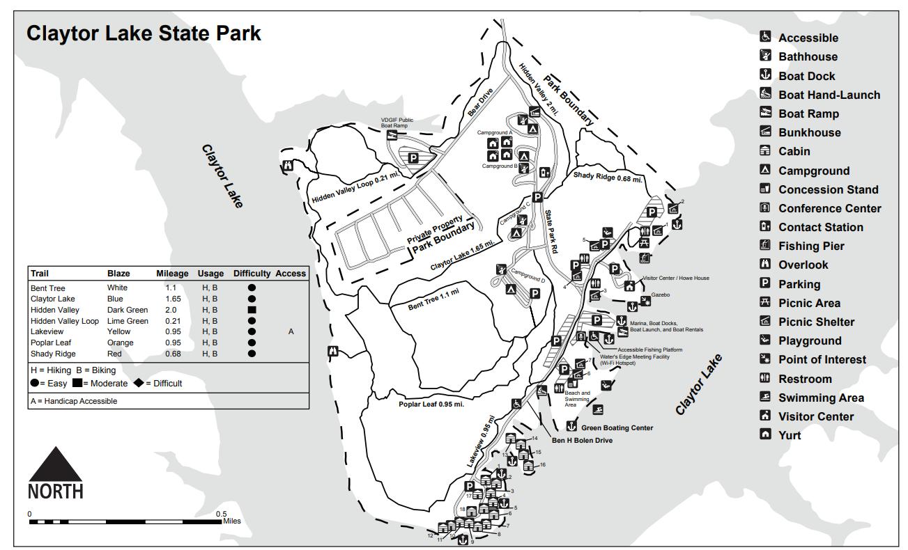 Claytor Lake State Park –