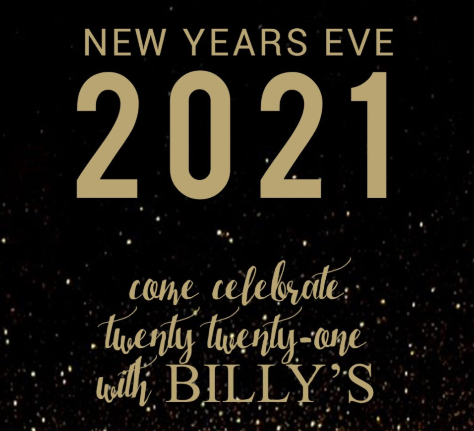 New Year's Eve at Billy's | Roanoke, VA 24011