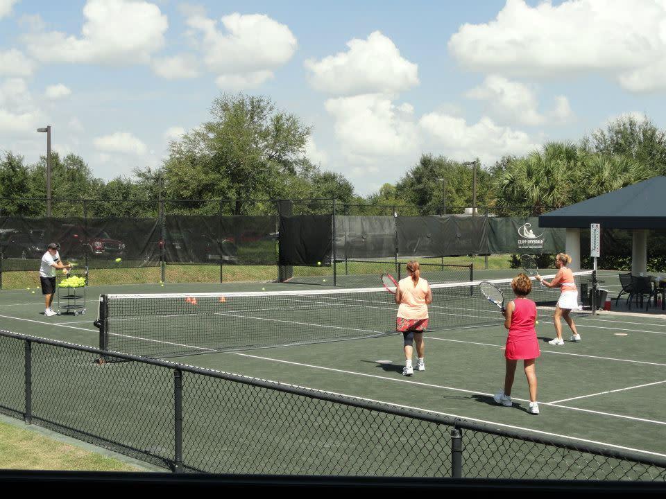 Ladies Beginner Tennis Clinic - New Tampa