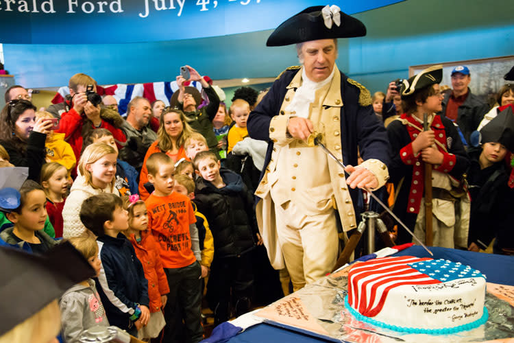 Washingtons Birthday Party Image