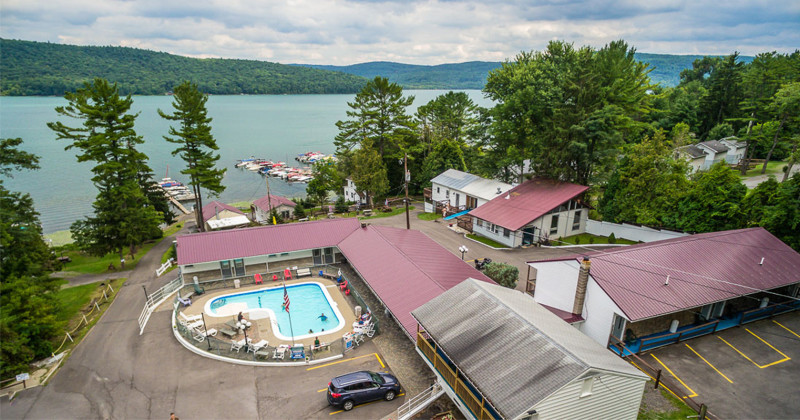 Local Stay and Play Package at Lake 'N Pines Motel
