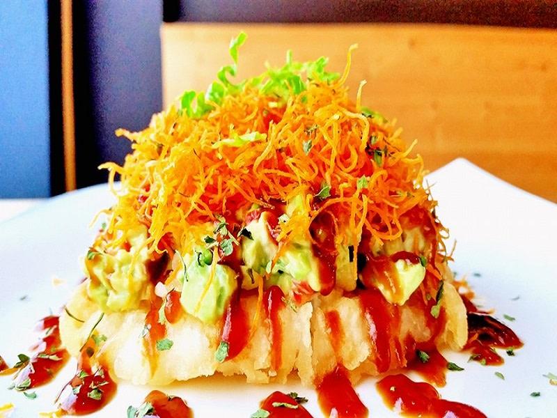 Wakoya Sushi - Veggie Sushi Pizza
