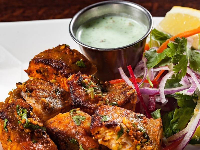 Noor Mahal Restaurant - Tandoori Fish Tikka