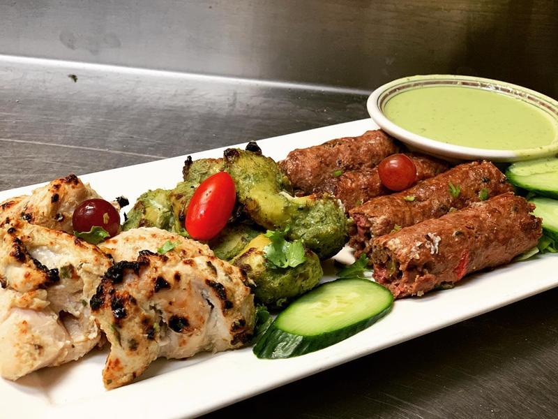 Noor Mahal Restaurant - Tandoori Grill Platter