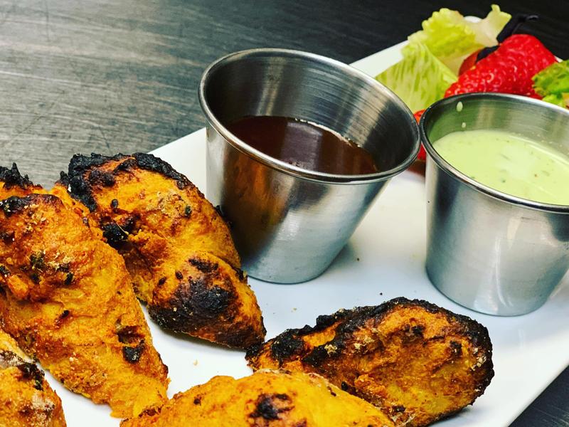 Noor Mahal Restaurant - Soya Achari Tikka