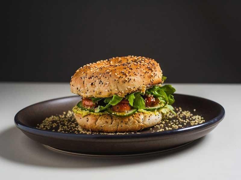 © Modern Electric Lunch - Emma's Bagel Sandwich