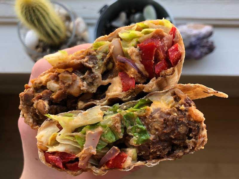 © The Mighty Kiwi Juice Bar & Eatery - Burrito