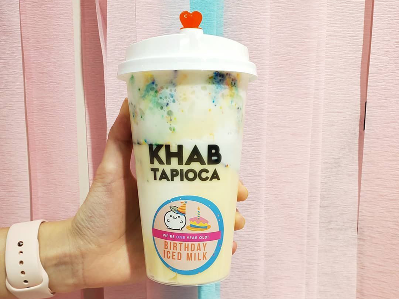 Khab Tapioca - Birthday Iced Milk