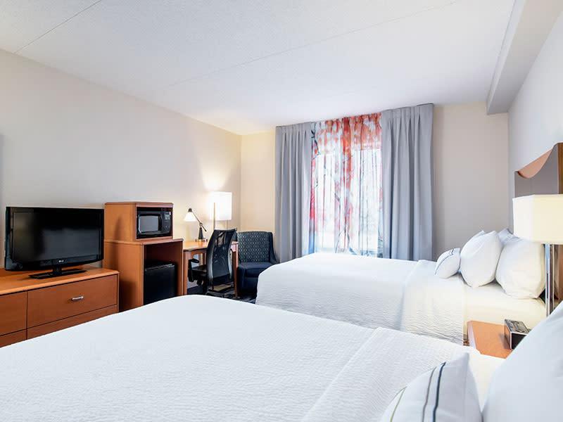 Executive Queen Queen room at the Fairfield Inn & Suites