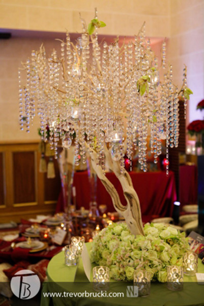 Eye-catching centrepieces