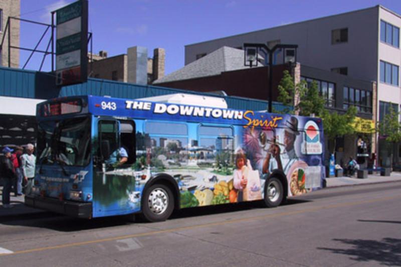 A Downtown Spirit Bus