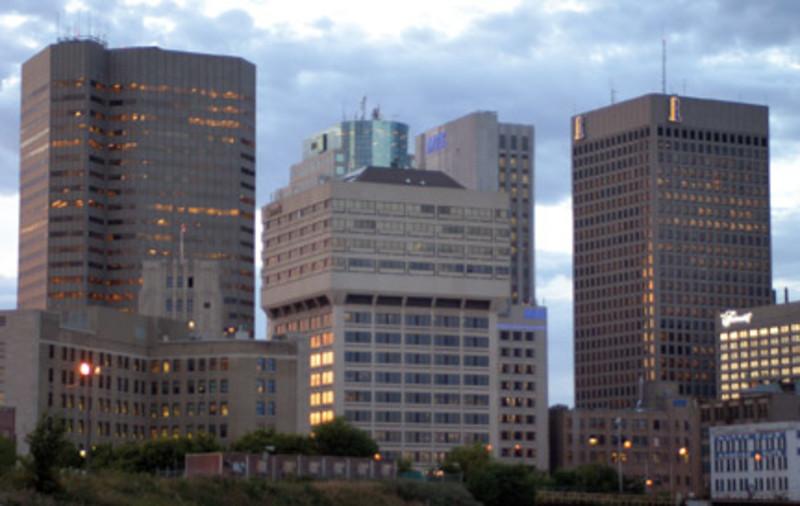 Downtown Winnipeg Skyline