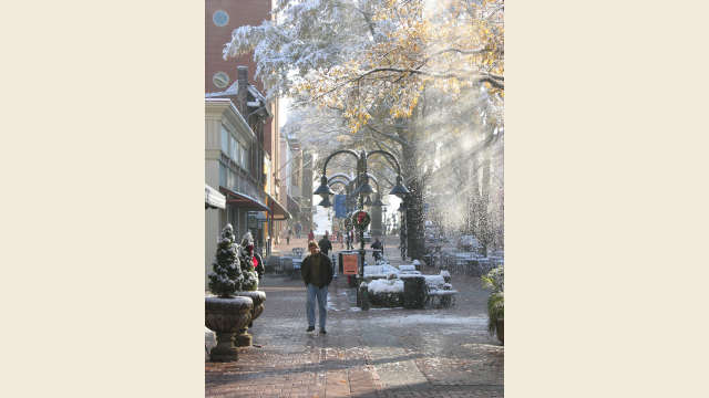 Downtown Mall Winter