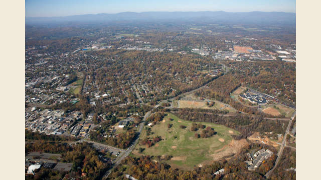 Charlottesville Aerial