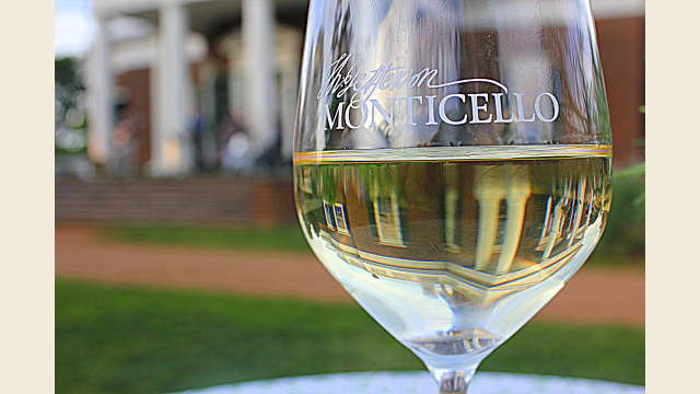 Wine at Monticello