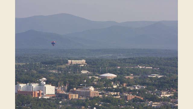 University of Virginia Aerial