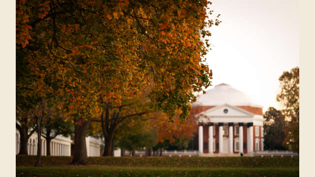 UVA Rotunda Autumn