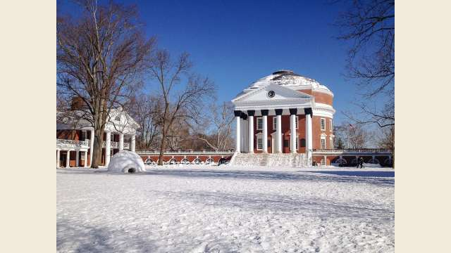 Snowy Rotunda