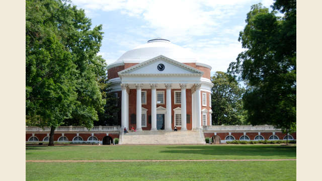 UVA Rotunda Summer