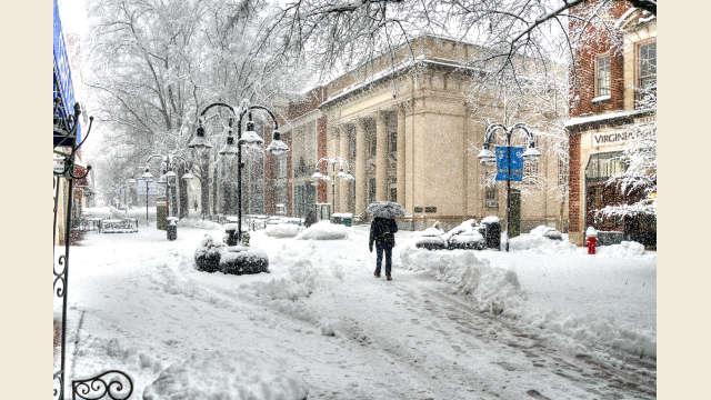 Downtown Snowfall