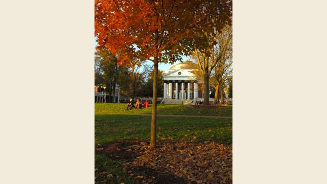 Rotunda in the Fall