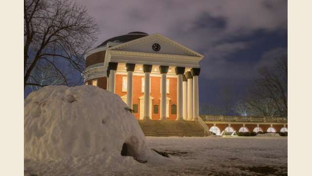 Snowed-In Rotunda