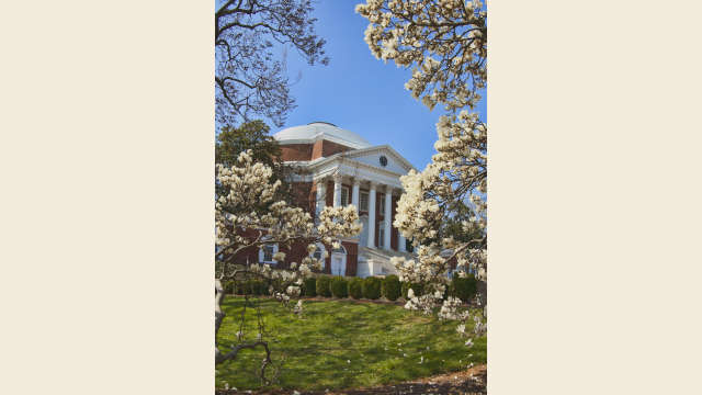 The Rotunda in the Spring