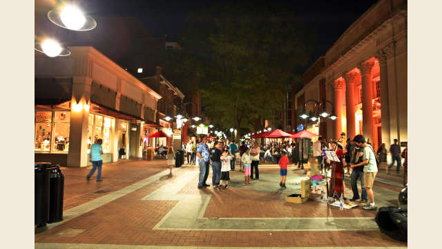 Downtown Mall Night