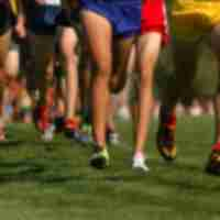 Cross country runners at Masterson Station Park