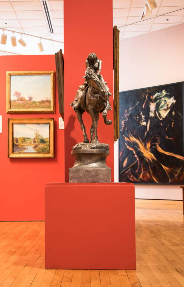 The South Bend Museum of Art's permanent collection