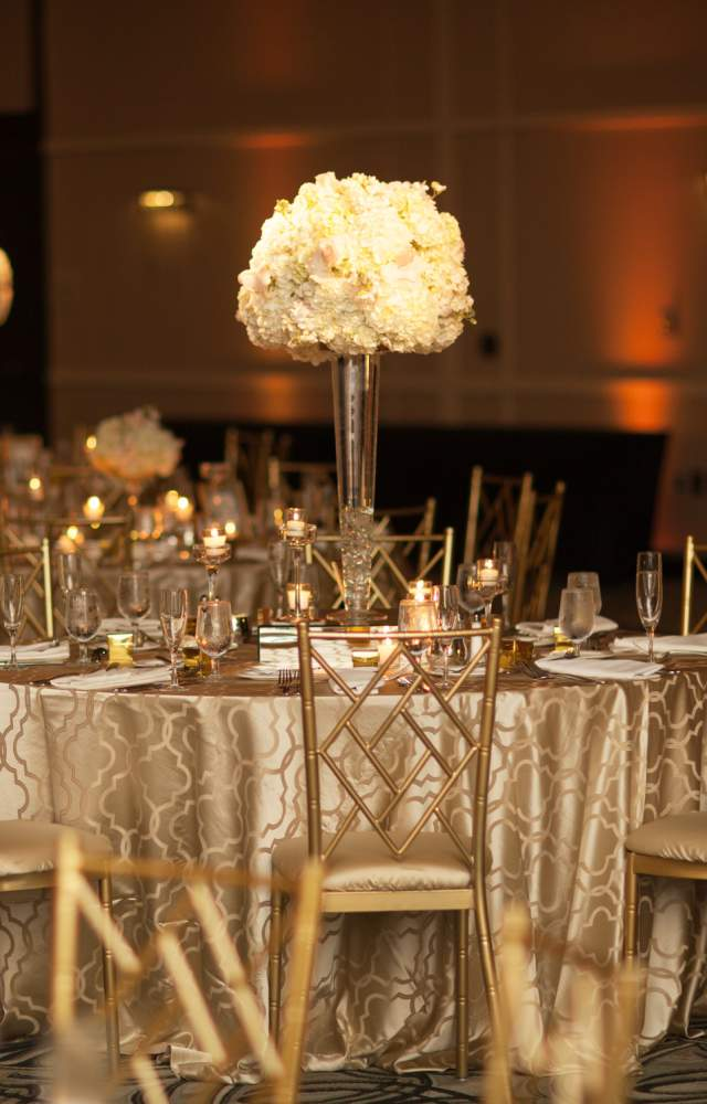 A wedding at the Gillespie Conference Center
