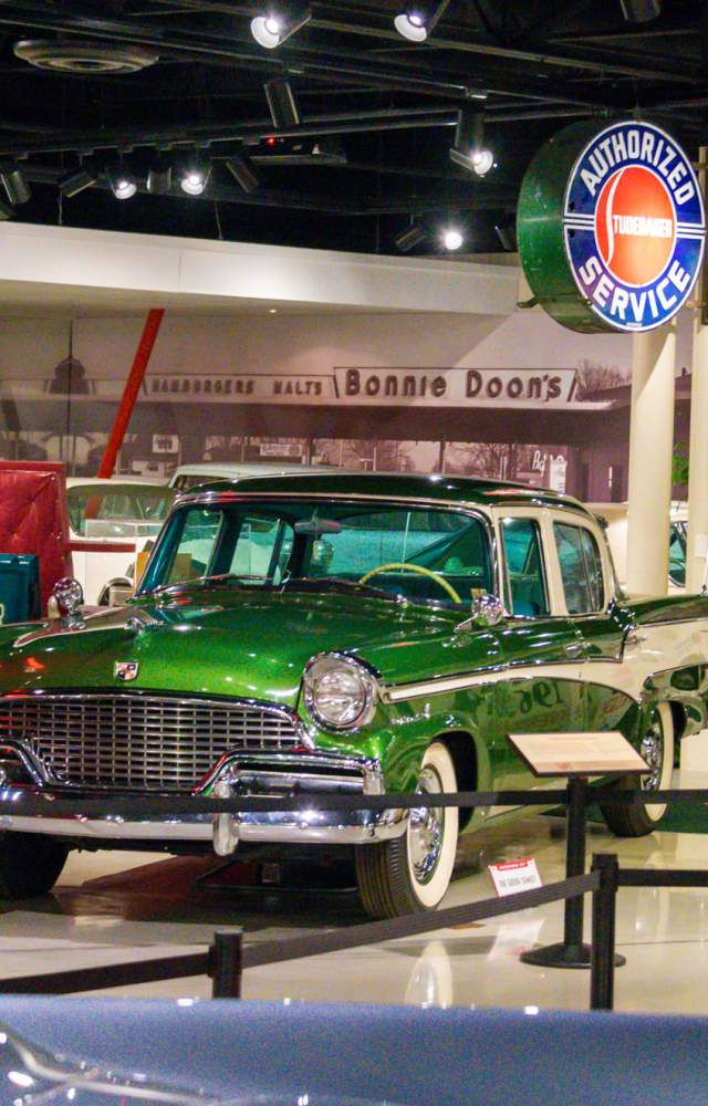 The Studebaker National Museum located in South Bend