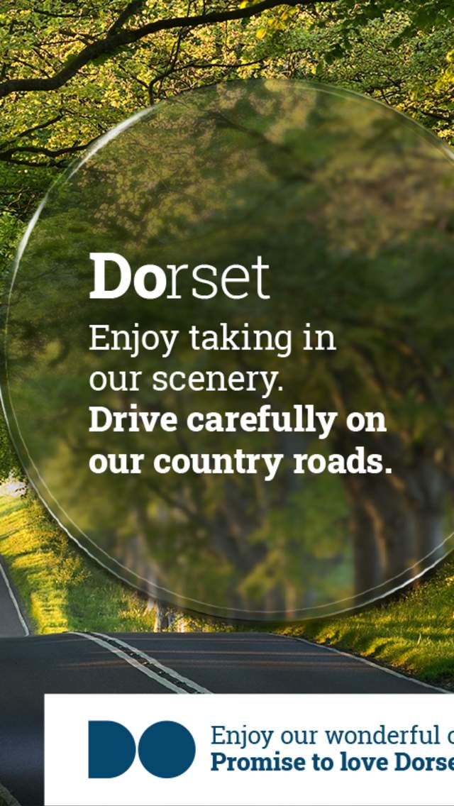 Promise To Love Dorset - enjoy taking in our scenery, but drive carefully on our country roads