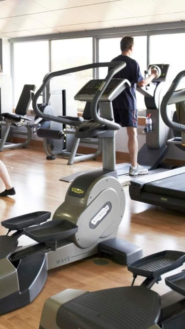 Gym equipment at Bridport Leisure Centre