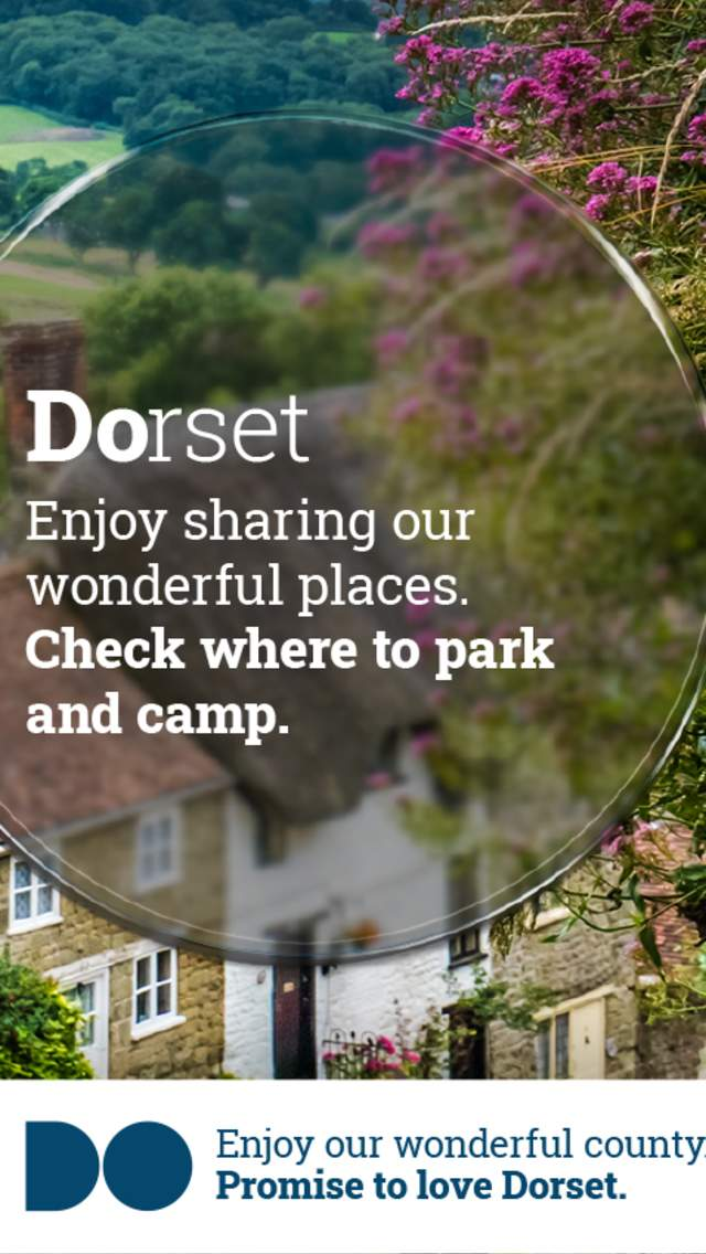 Promise To Love Dorset - enjoy sharing our wonderful places and check where to park and camp