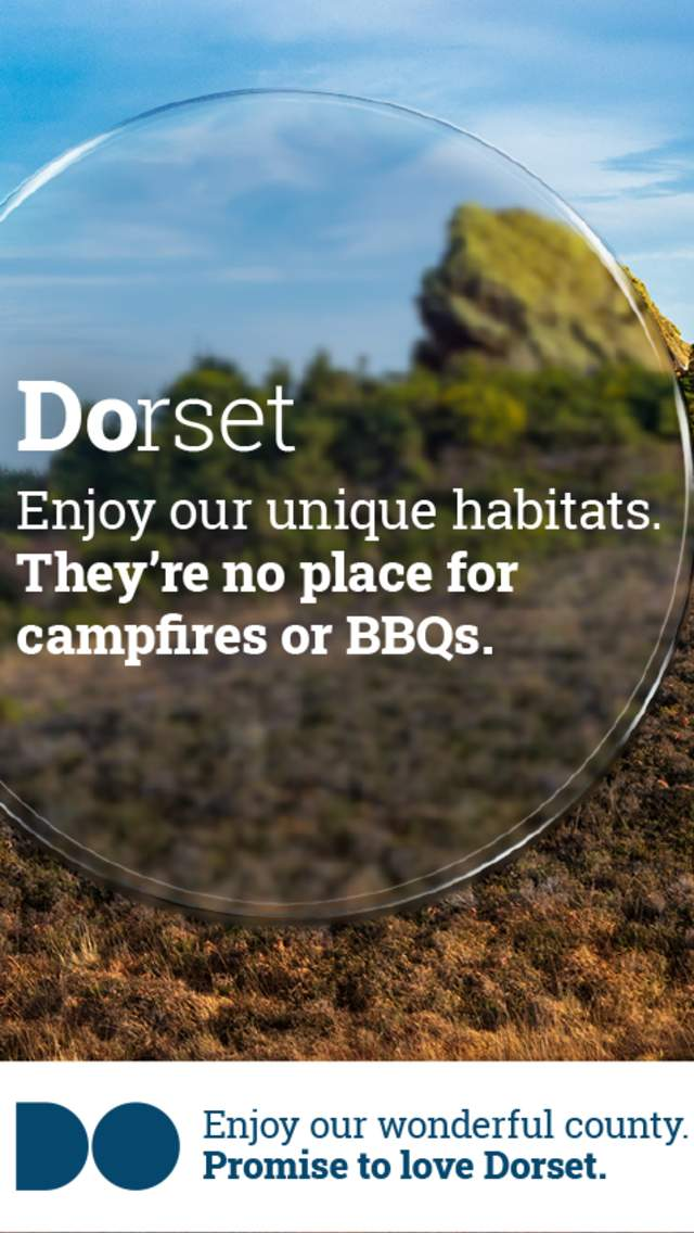 Promise To Love Dorset - Enjoy our unique habitats, they're no place for campfires or BBQs