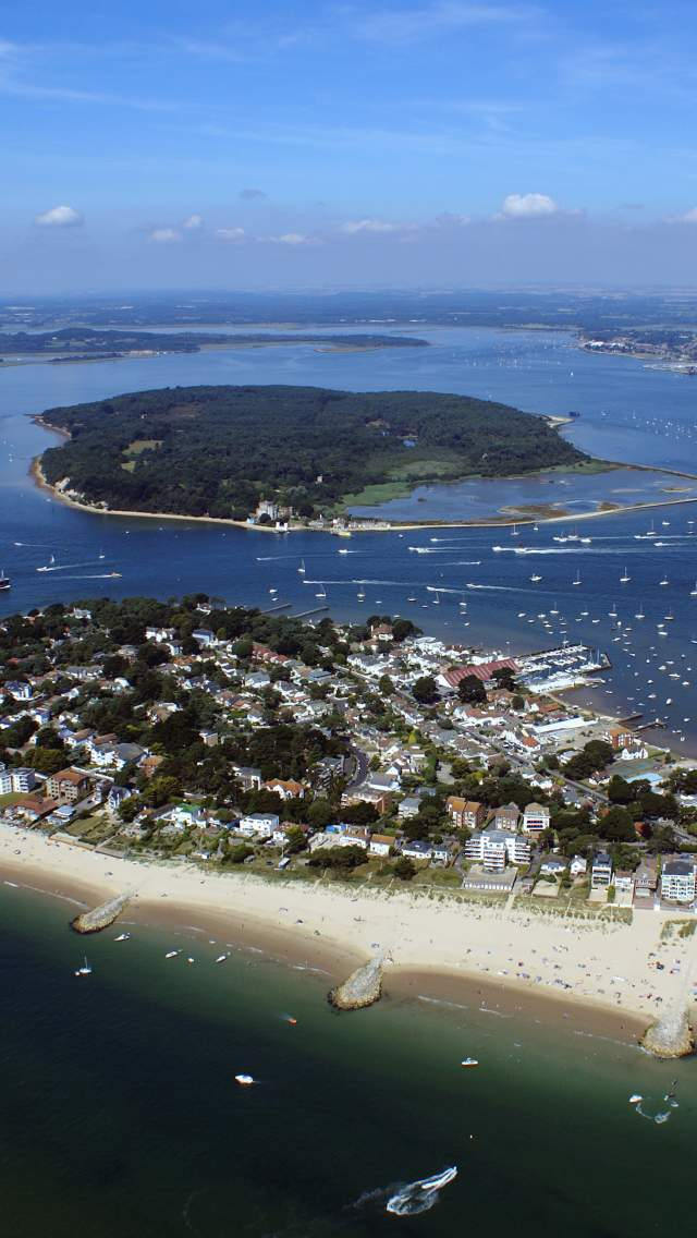 Poole Harbour and Brownsea Island