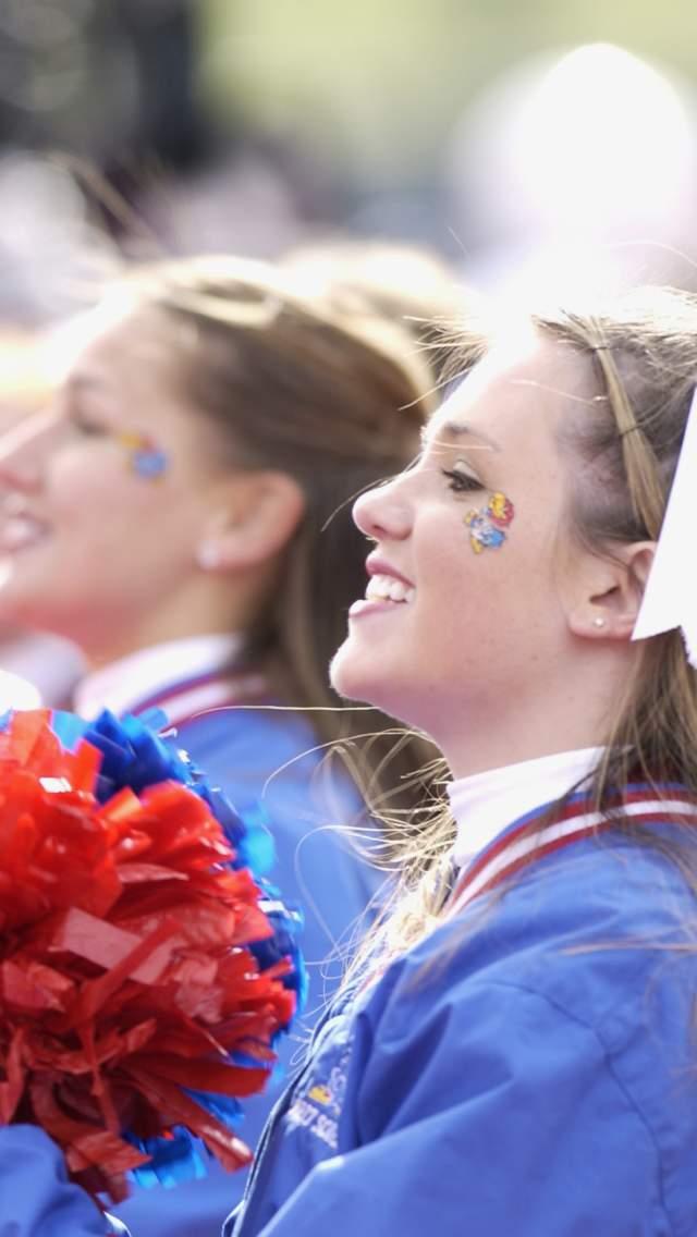 KU Cheerleaders