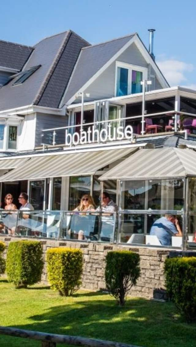 The Boathouse Restaurant in Christchurch, Dorset