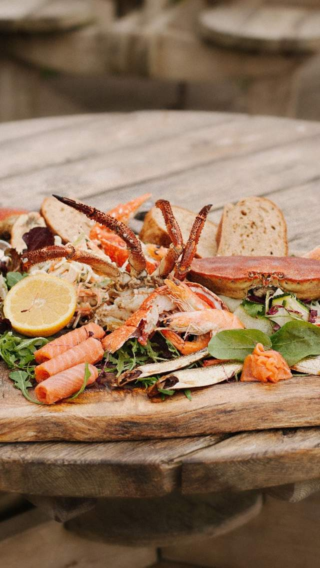Seafood Platter at Hive Beach Cafe
