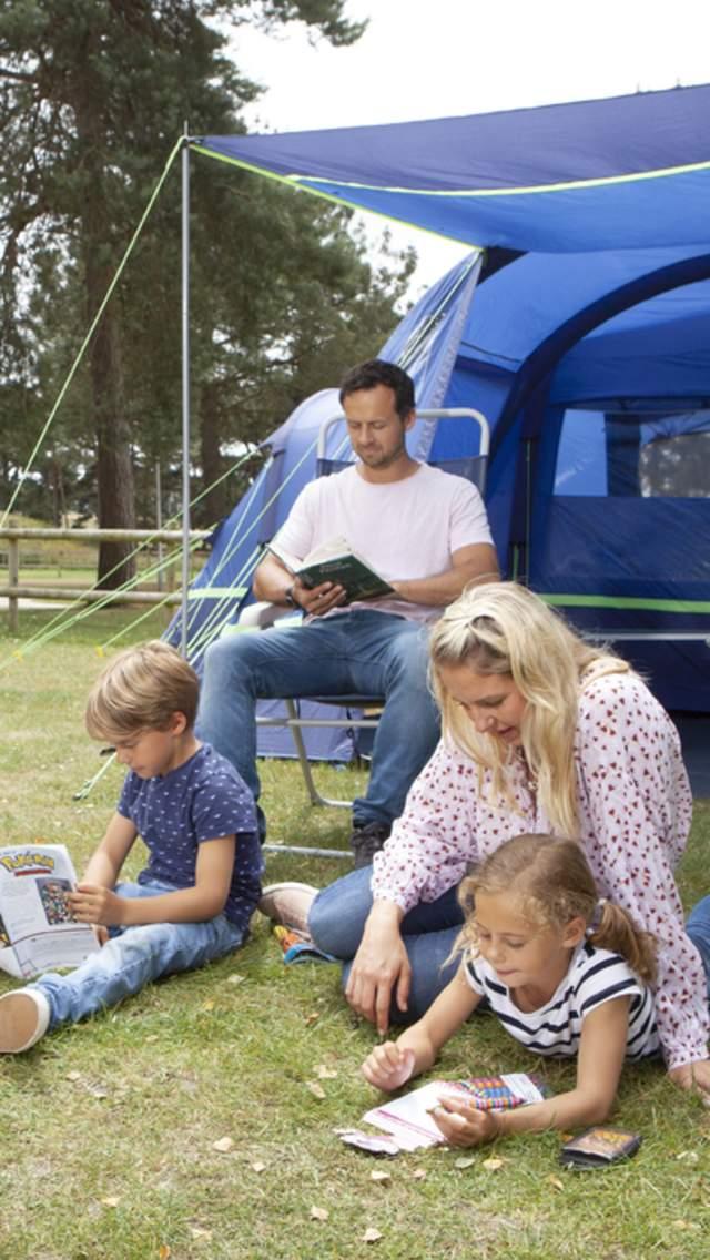Camping at Sandford Holiday Park