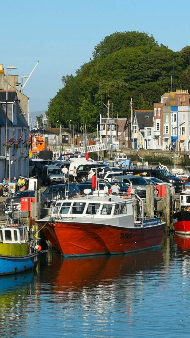 Boats at Weymouth Harbour