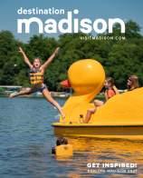 2021 Destination Madison Visitor Guide Cover