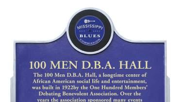 Mississippi Blue Trail Marker
