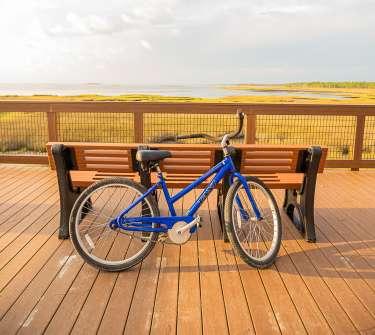 Biking in Salinas Park