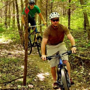 Mountain biking in Clarksville TN